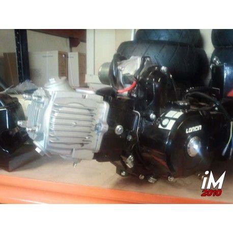 Motor 4 tiempos 125 cm3 4 velocidades. Arranque electrónico
